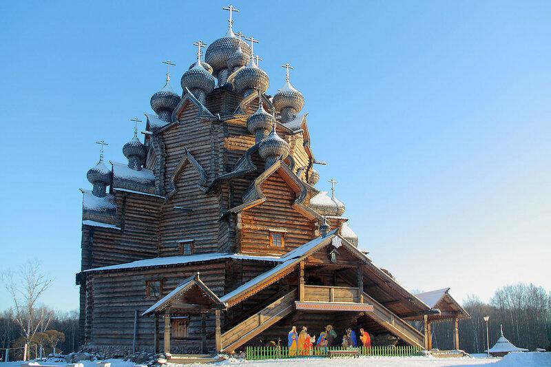 Церковь Покрова Пресвятой Богородицы. Петербург