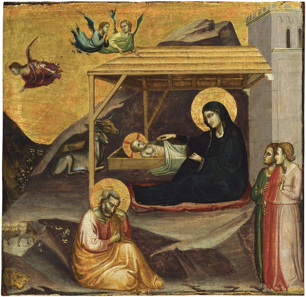 Gaddi, Taddeo - ���������, ��. 1325, 41,5 cm x 41,8 cm, ������, �������.jpg