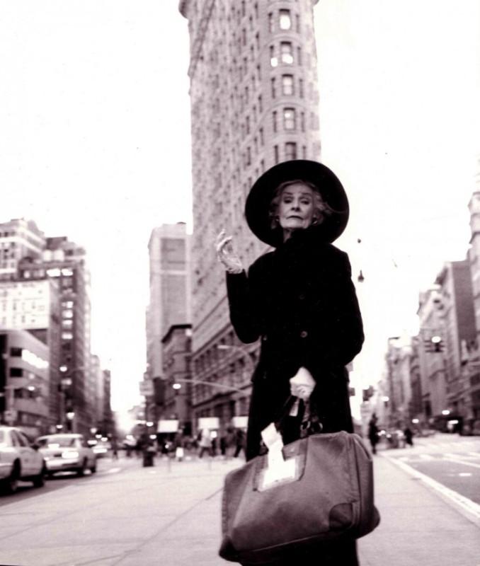 90 летняя актриса попала в список «50 самых красивых людей Нью Йорка»