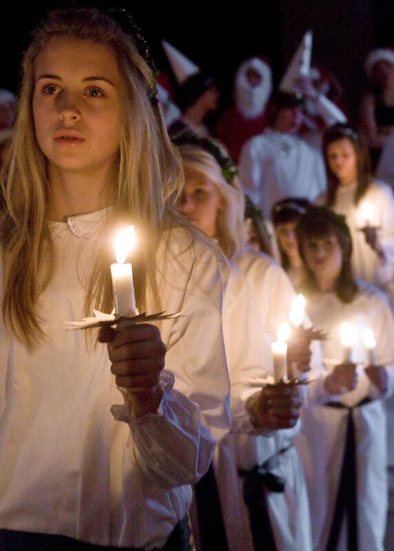 Luciatåg i Sverige 2007.
