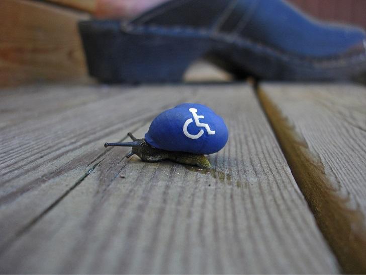 Улитка «Для инвалидов»