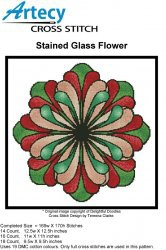 Журнал Stained Glass Flower