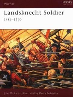 Книга Osprey - Warrior - 049 - Landsknecht Soldier 1486-1560
