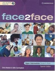 Аудиокнига Face2face Upper-Intermediate (WorkBook, Student's Book, Teacher's Book, CD-ROM, CDs)