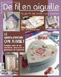 Журнал De Fil en Aiguille №73 2009