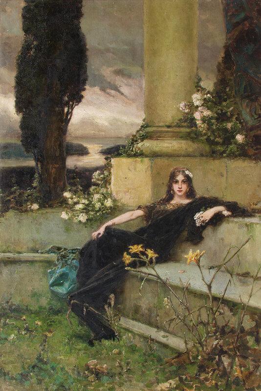 Молчание вечера. 1900