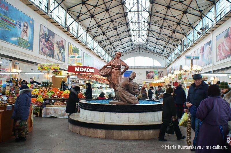 Крытый рынок, Саратов, 21 февраля 2015 года