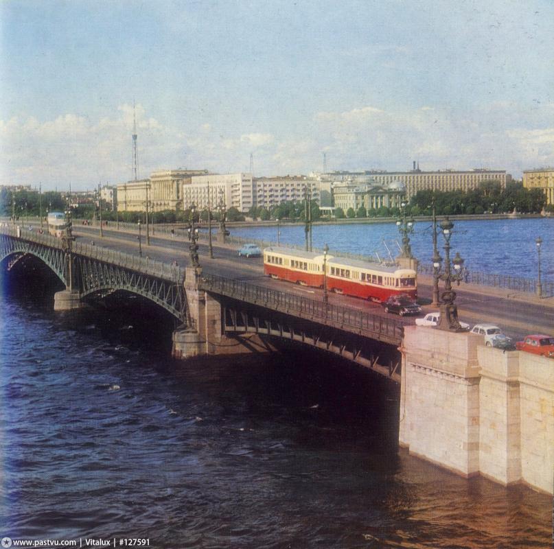 Троицкий мост. Фотоархив