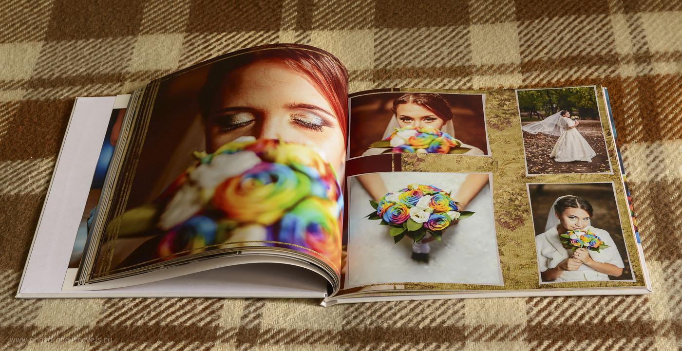 24. При создании свадебной фотокниги своими руками размещайте разноплановые фотографии. Так она будет выглядеть интереснее.