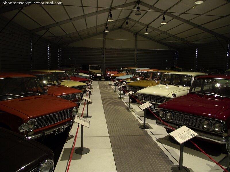 Автомобильный музей в г.Таллин, Эстония