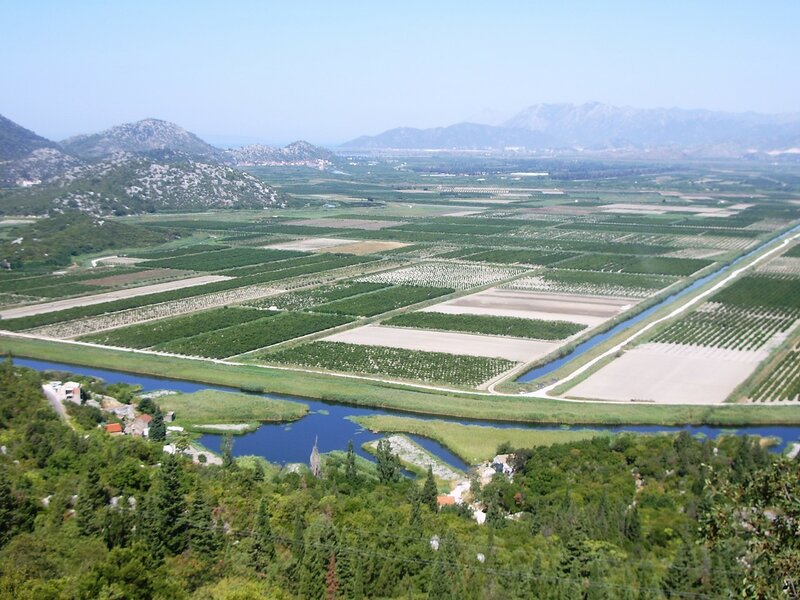 Хорватия, долина Неретвы (Croatia, the valley of the Neretva)