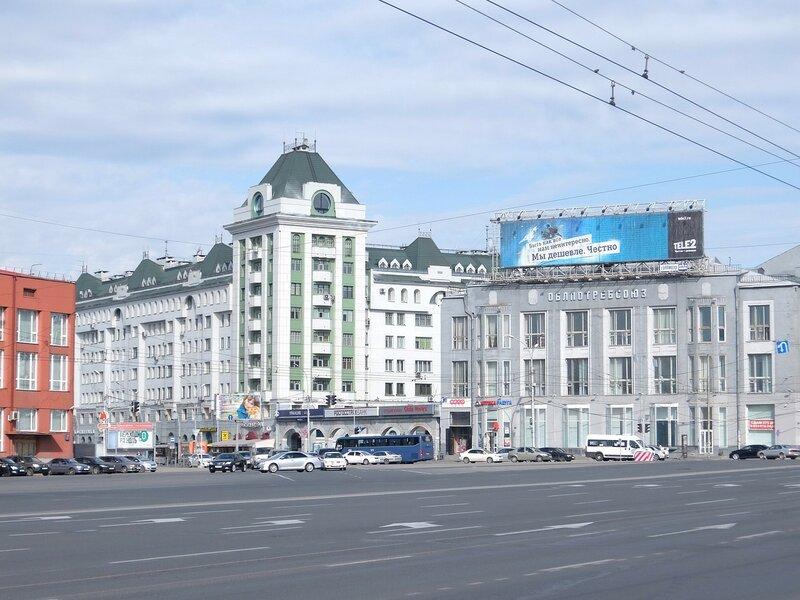 Новосибирск - Здание облпотребсоюза