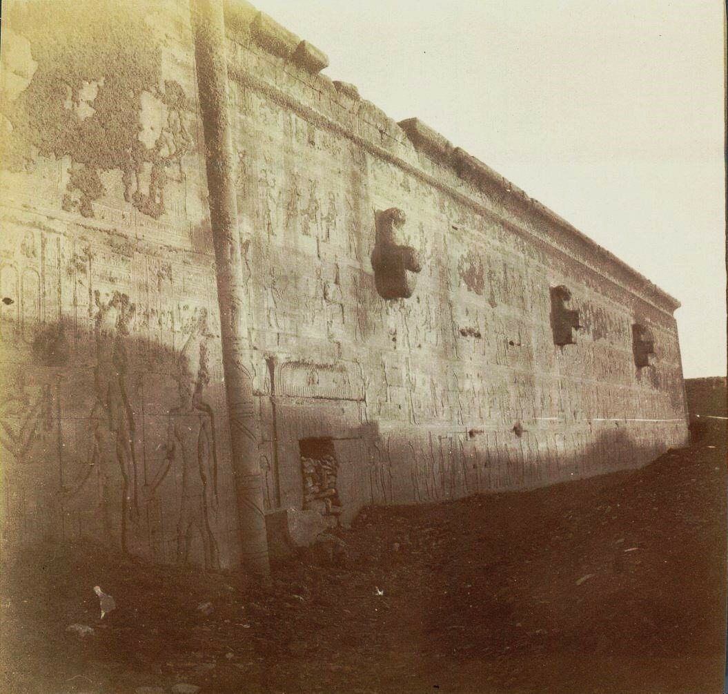 1898. Храм Хатхор. Задняя сторона