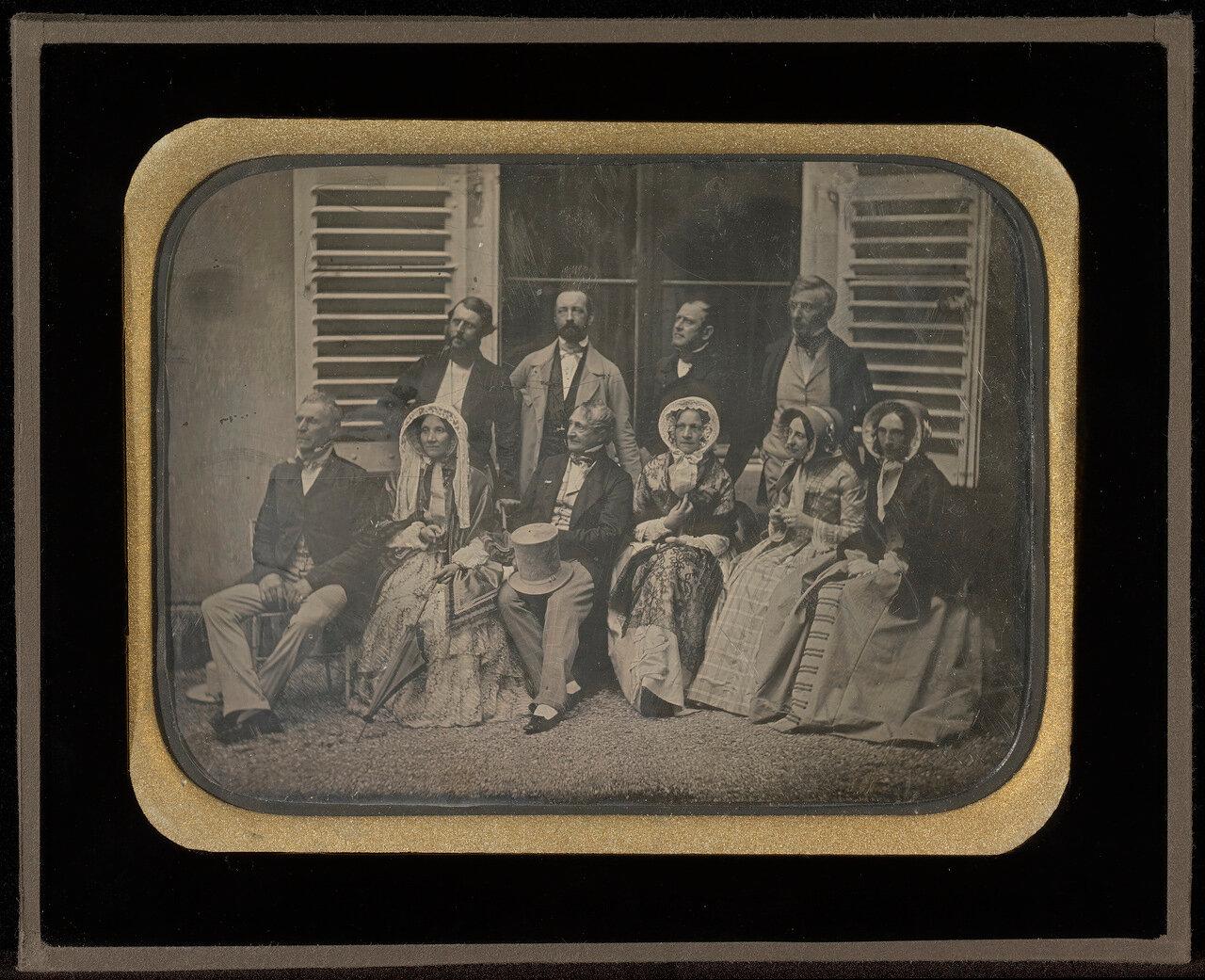 1850. Семья и друзья
