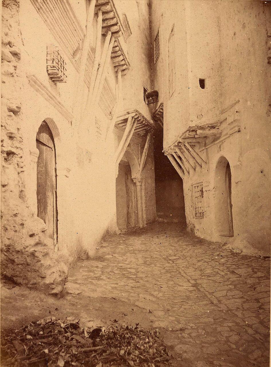 1900. Алжир. Переулок в Касбе