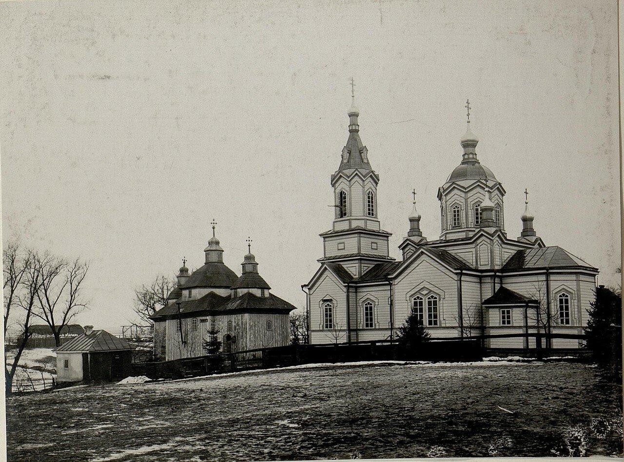 Острожец. Русская церковь. 28.XI.1915.