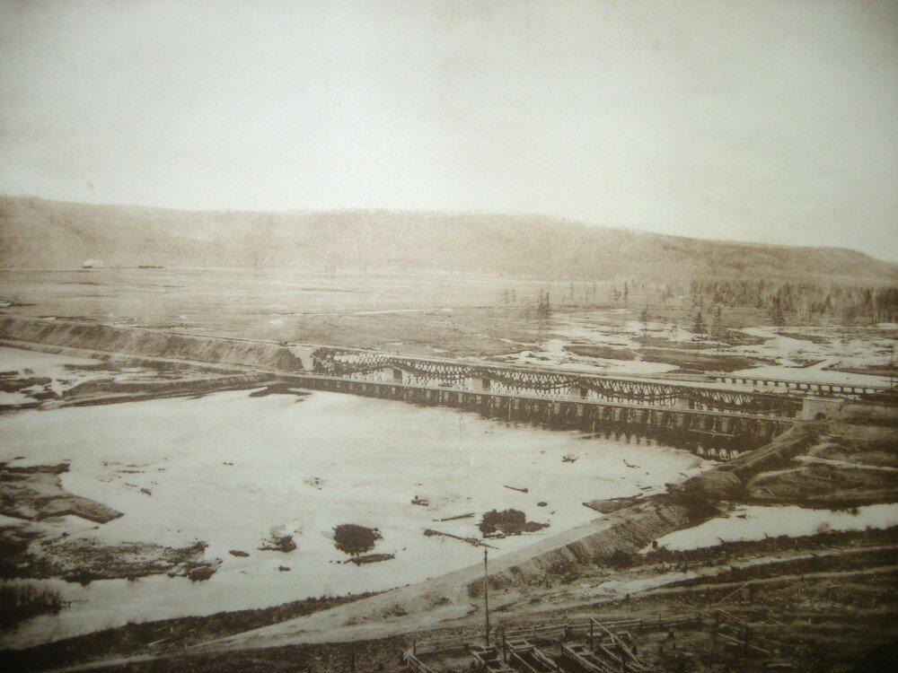 25. Железнодорожный мост через реку Большой Невер