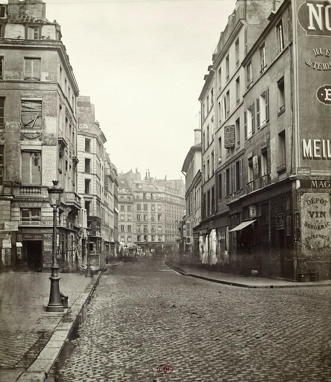 Рю дю Тампль, 1866