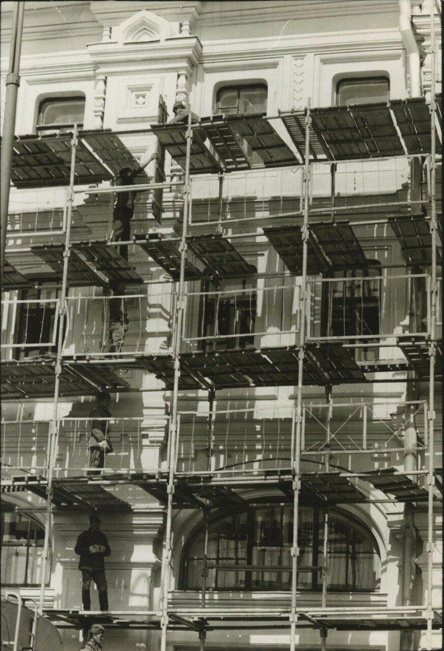 1968. Здание под реставрацией.