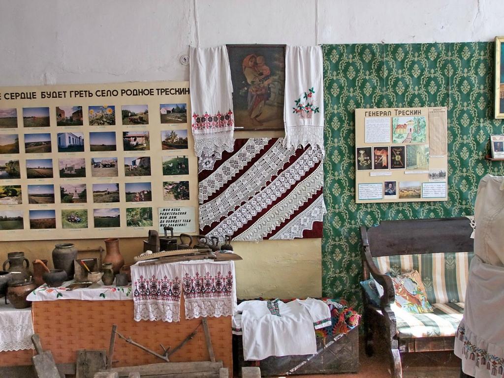Музей села Трескино.