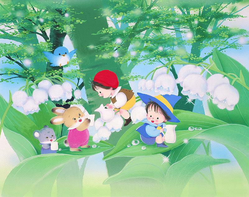 Иллюстрации Igawa Hiroko