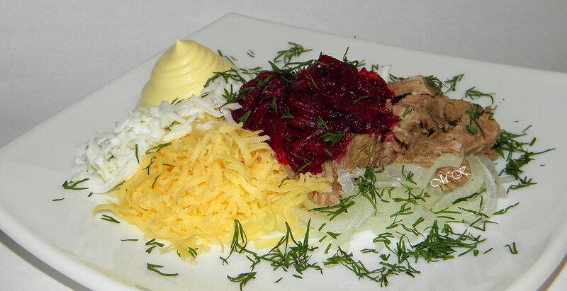 """Рекомендую! Салат с говядиной """"Нарын"""""""