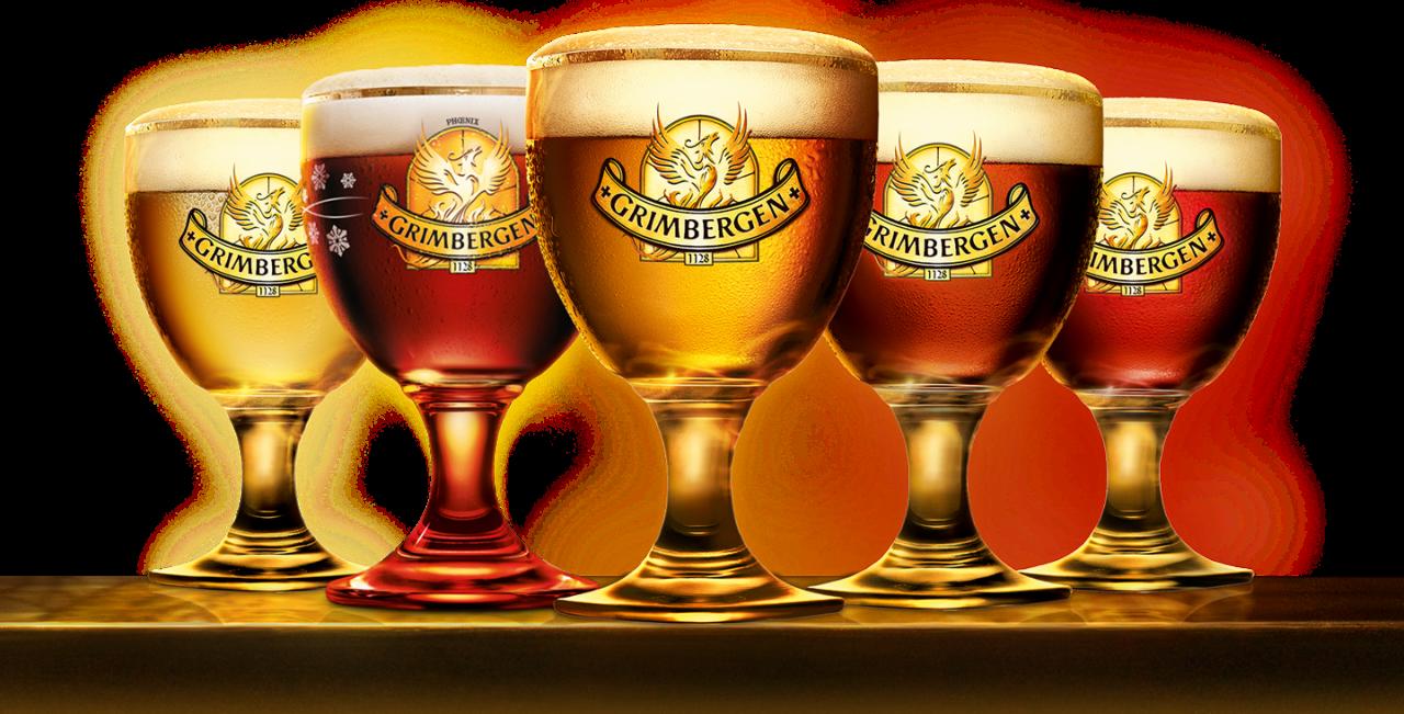 Бокалы с пивом Grimberger