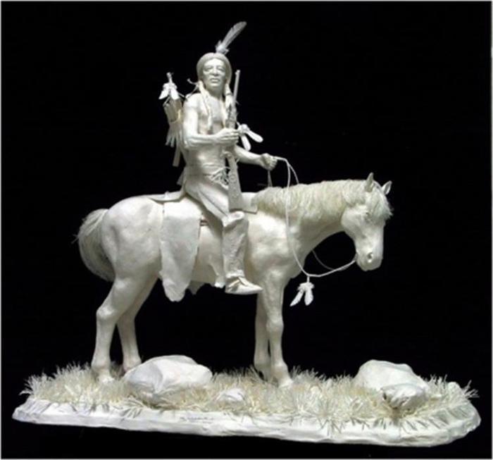 Удивительные скульптуры из бумажной массы 0 115b6c adaefd46 orig