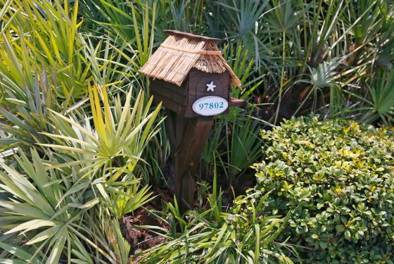 Оригинальные почтовые ящики тропического архипелага Флорида Киз, США