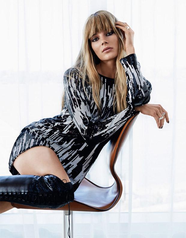 Ива Лагуна (Ieva Laguna) в журнале Vogue Russia (5 фото)
