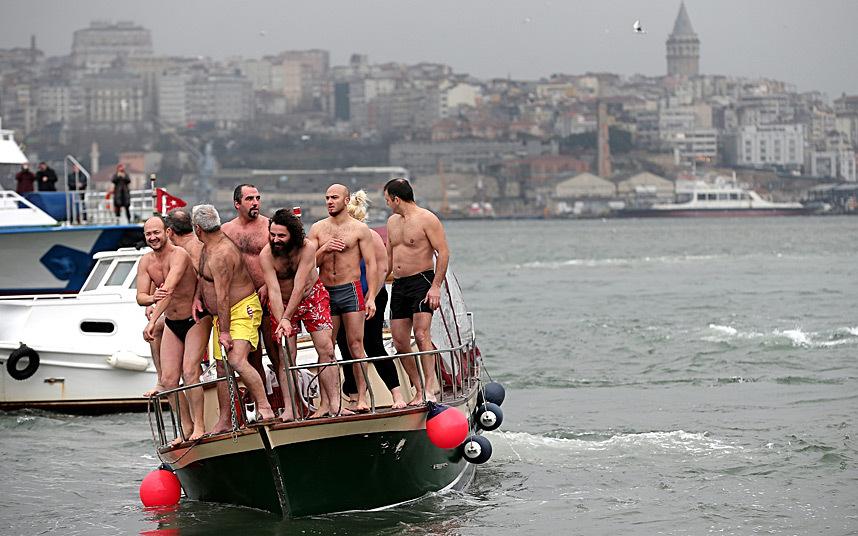 Праздник Крещения Господня день прошёл по всей Европе