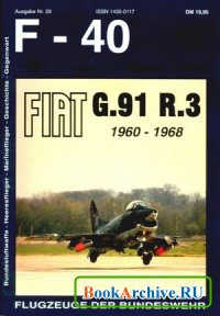 Аудиокнига Fiat G.91 R.3 1960-1968 (F-40 Flugzeuge Der Bundeswehr 29)