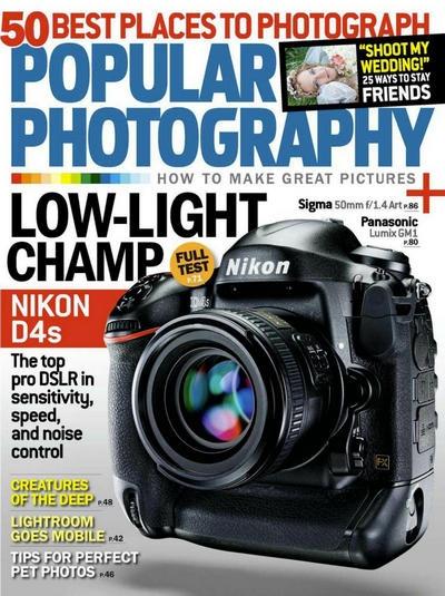 Книга Подшивка журналов: Popular Photography №№4 - 6 (апрель - июнь 2014) [En]