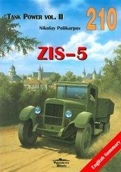 Журнал Wydawnictwo Militaria 210  Zis-5