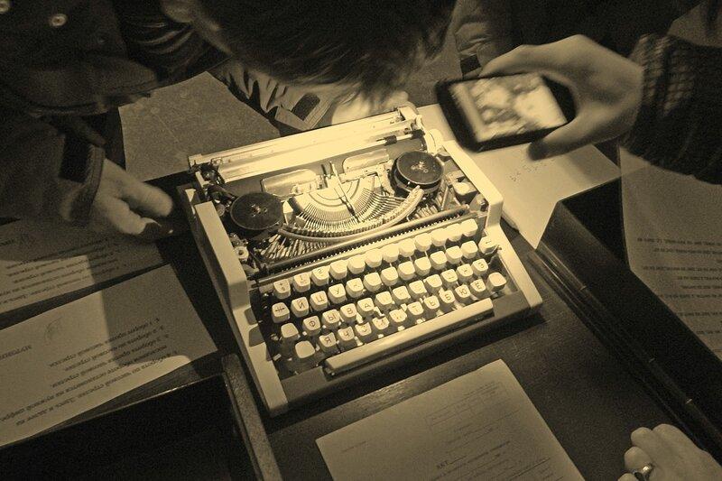 Спецотдел №7: пишущая машинка на столе последней комнаты