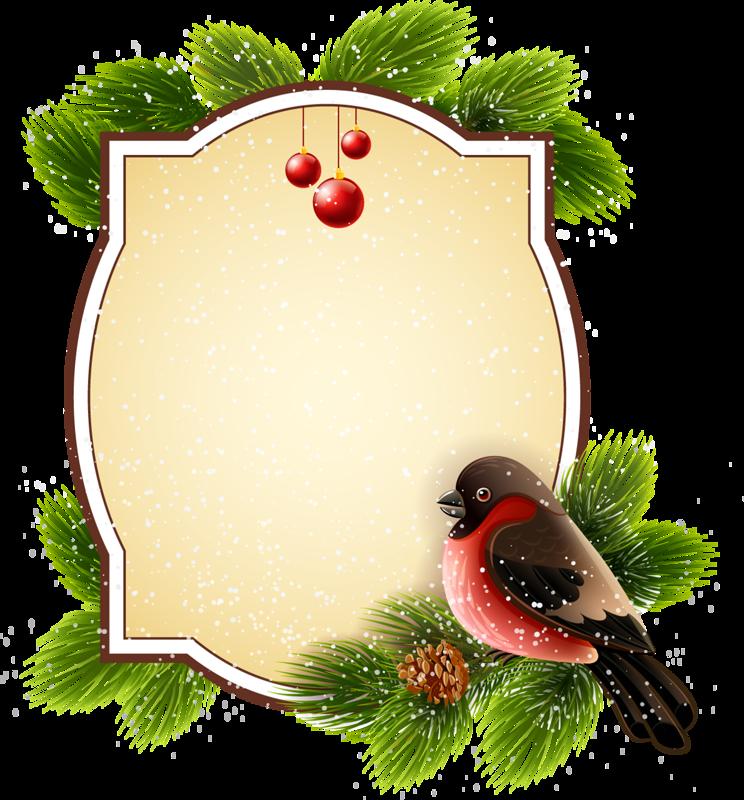Заготовка для открытки новогодней