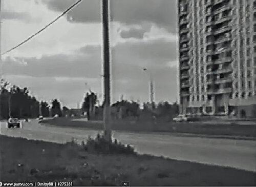 Боровское шоссе, вид в сторону д. Рассказовка
