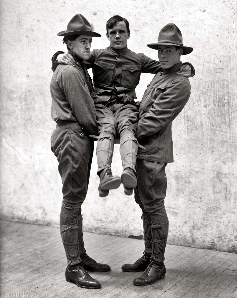 Американские бойскауты начала 20-го века на снимках фотографов (7)