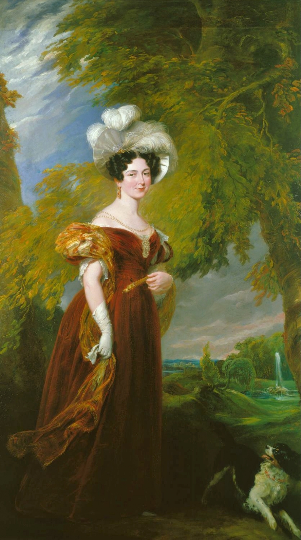 Portrait of Victoria, Duchess of Kent