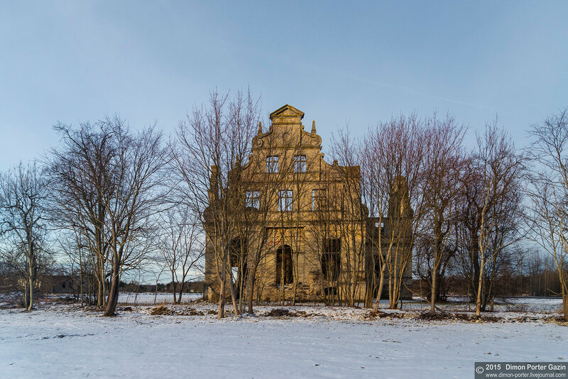 Эстония. Замок Унгру