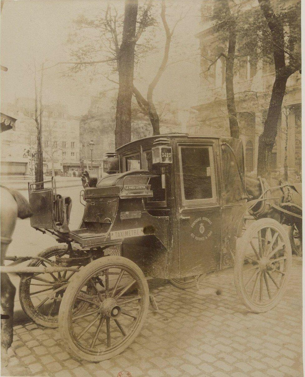 1910. Парижский транспорт