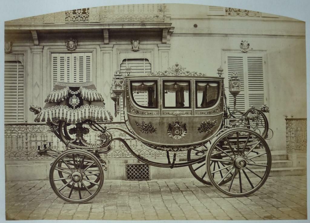 01. Коронационная карета императора Бразилии Педру II