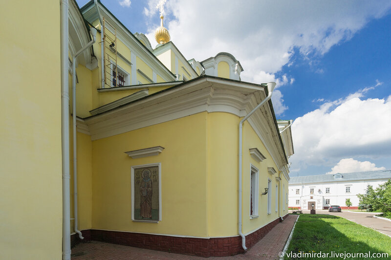 Свято-Екатерининский монастырь. Церковь Петра и Павла.