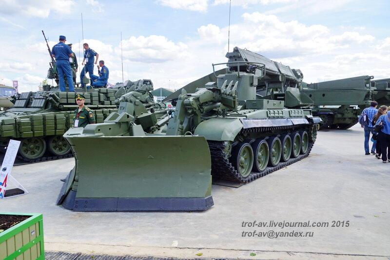 ИМР-2, Форум Армия-2015, парк Патриот