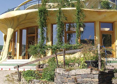 Экологичный глиняный дом