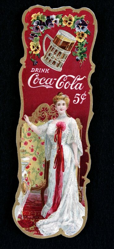 Along with Hilda Clark, a singer and actress who appeared in 1900 ads, Lillian Nordica was one of the first faces of Coca-Cola.