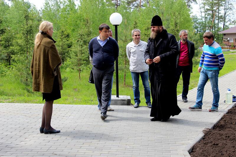 С владыкой Феодосием. 20 мая 2013 года