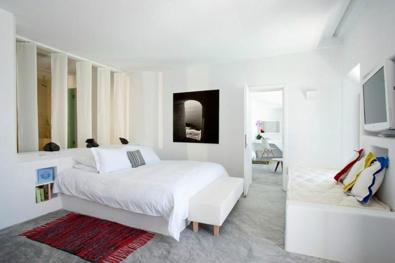 Белый цвет в интерьере спальни фото (3)
