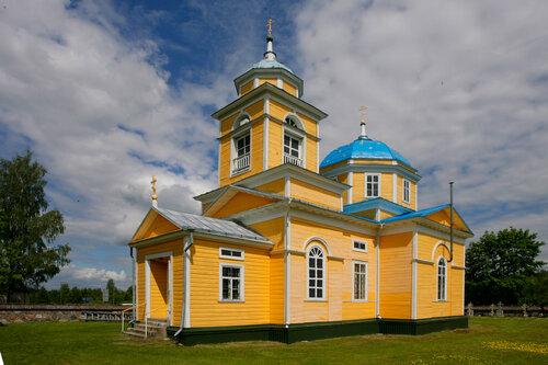 Храм Святой Троицы пос. Голышево
