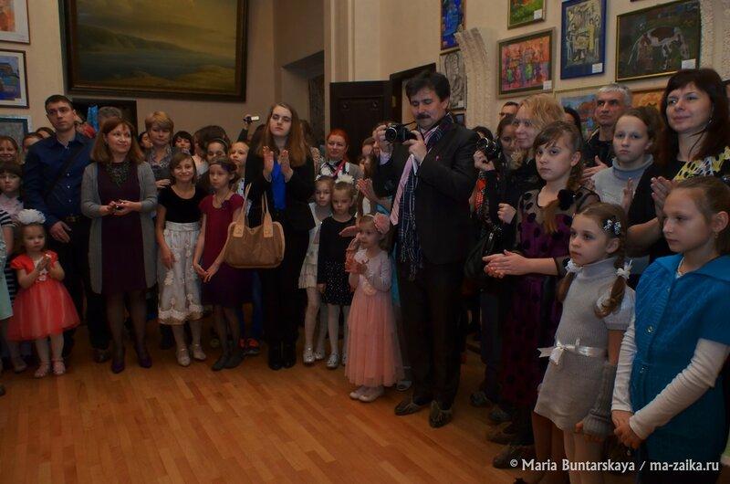 Белая ворона, Саратов, центр поддержки одарённых детей, 19 декабря 2014 года